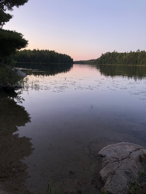 Boundary Waters Solo Mission Day 1