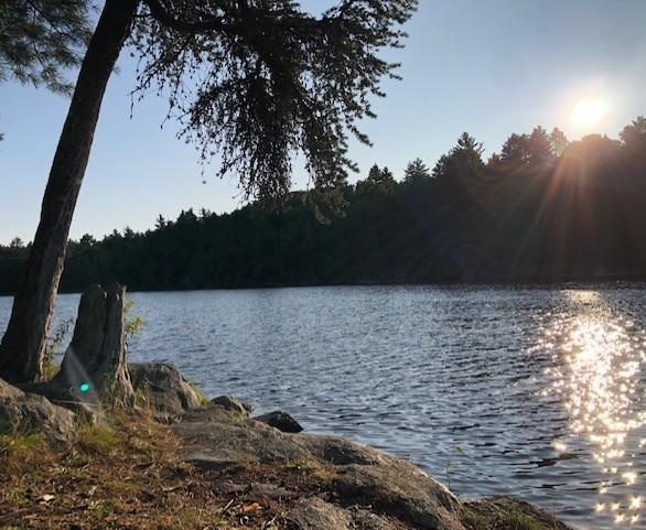 Slim Lake sunrise